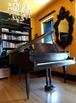 Chicago Photo Studio with Baby Grand Piano